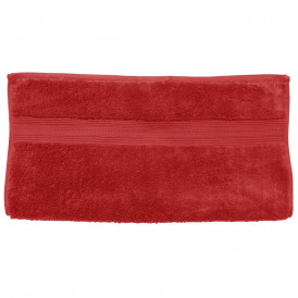 Handtuch 50x100cm ScharMant® 450gr/m² Farbe rot