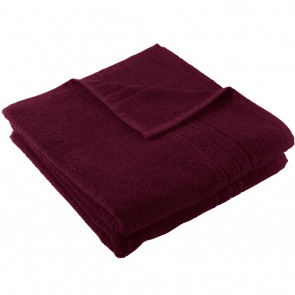 Strandtuch XL SoliDe bordo 100 x 220 cm