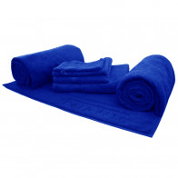 Handtuchsortiment ScharMant 450gr/m² in royalblau