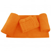 Handtuchsortiment ScharMant 450gr/m² in orange